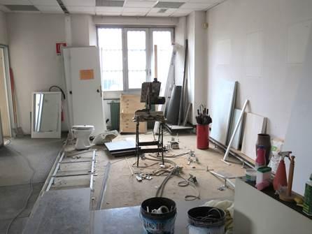 Preparazione del Nuovo Coworking Milano Bicocca