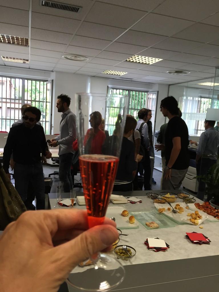 Il nostro Coworking è iniziato con una festa