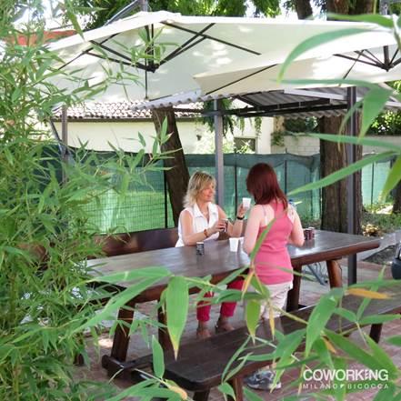 Area Relax al Coworking Milano Bicocca
