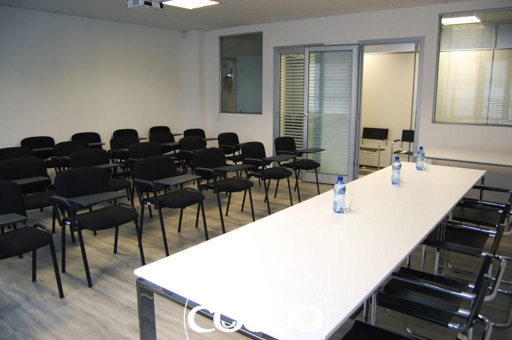 Vi presento la sala riunioni del nostro Coworking