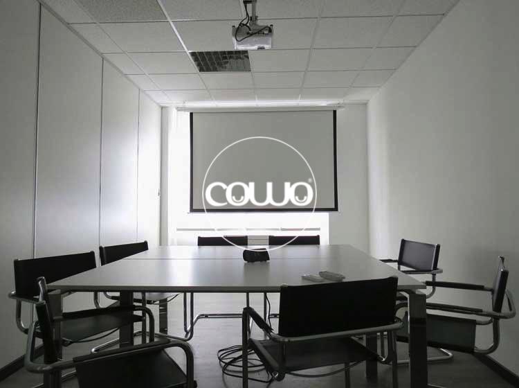 Sala Riunioni al Coworking Milano Bicocca