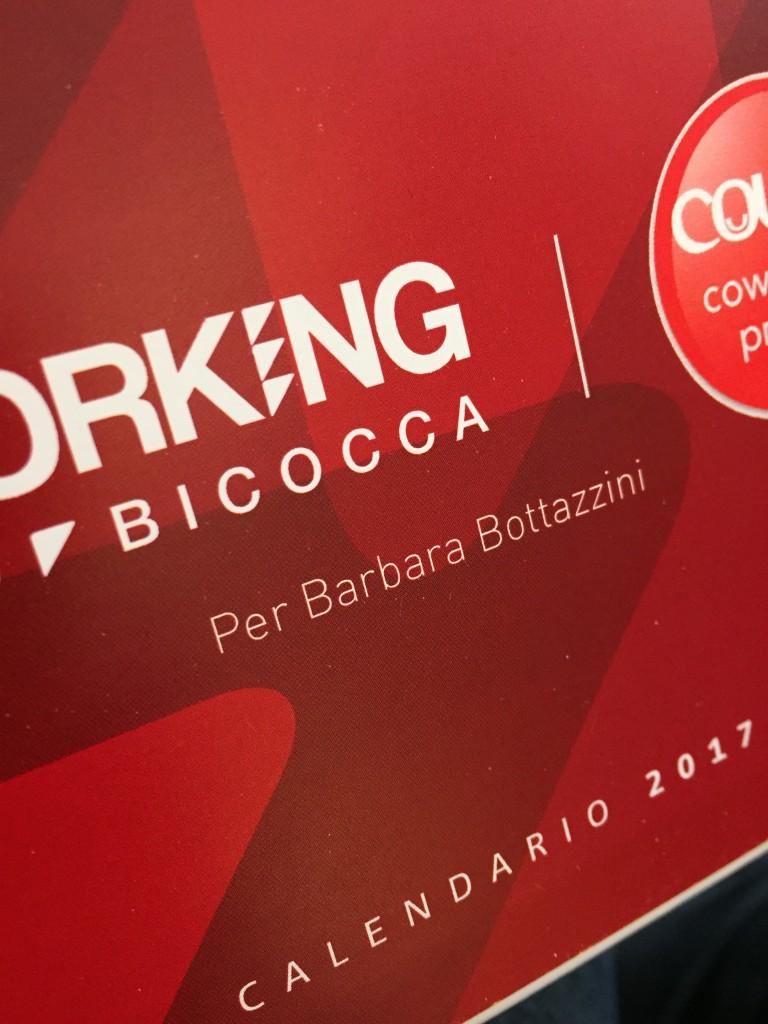 Stampa per la Coworking Community di Milano Bicocca